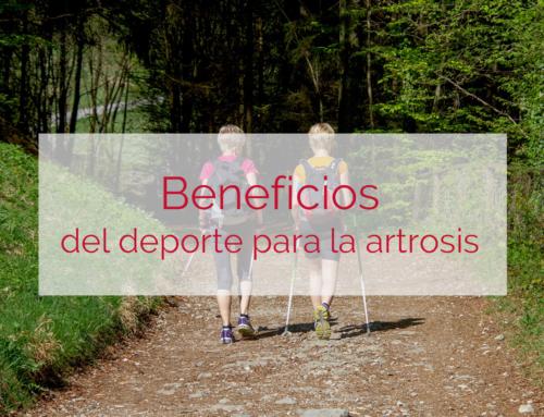 ¿Es beneficioso practicar deporte para la artrosis?