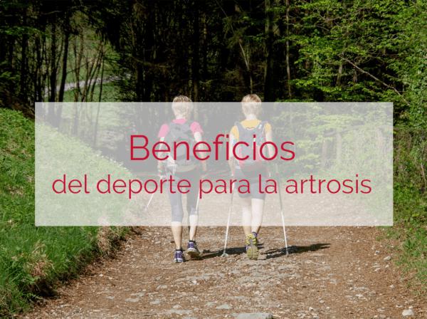 beneficios del deporte para la artrosis