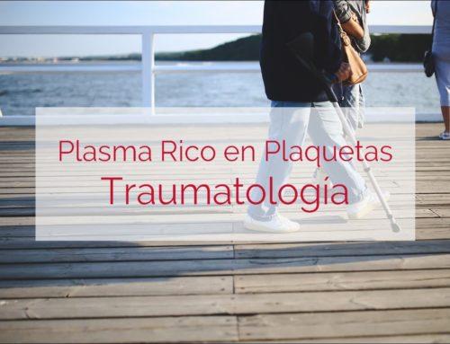 Aplicación del prp en traumatología