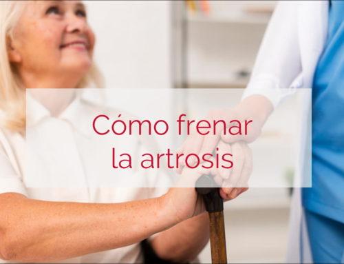 Cómo frenar la artrosis
