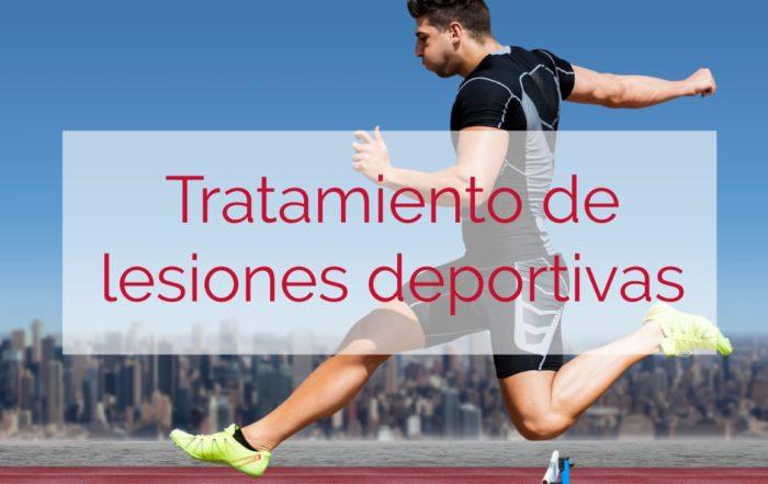 tratamiento de lesiones deportivas