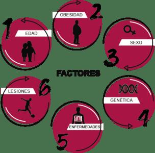 Factores que provocan la artrosis